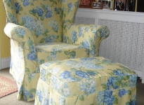 custom-arm-chair-and-ottoman
