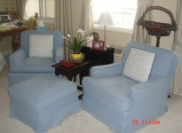 custom-arm-chairs-and-ottoman-self-piping-and-pleats