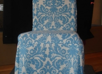 custom-blue-and-white-dining-chair-self-piping-and-pleats