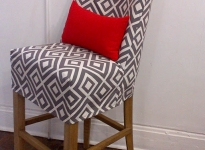 custom-geometric-pattern-barstool-cover