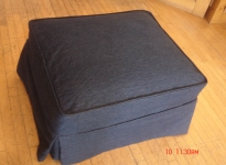 custom-grey-ottoman-with-piping-and-pleats