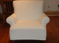 custom-white-denim-no-loose-seat-cushions