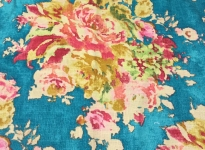 floral-on-blue-fabric