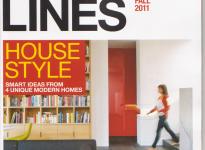 Design Lines Magazine -- Cover, Fall 2011