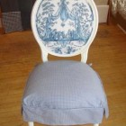 Custom Dining  Room Seat Cover